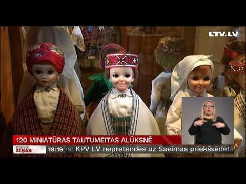 120 miniatūras tautumeitas Alūksnē