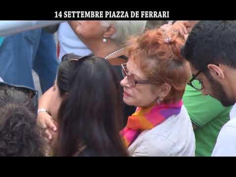 GENOVA : PIAZZA DE FERRARI 14 SETTEMBRE PER NON DIMENTICARE