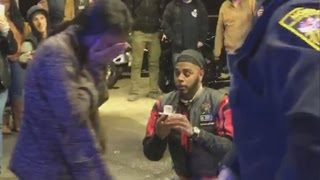 Man Causes Controversy By Proposing To Girlfriend During Staged Police Chase