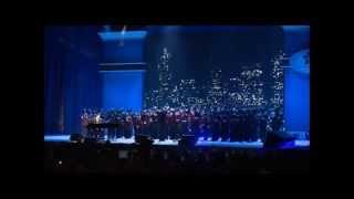Darren Criss, Naya Rivera, Amber Riley performing at Obama's Inauguration 1/19 [HD]