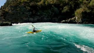 FPV Drone x Aratiatia Rapids   Kayak