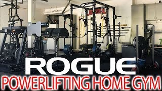 Ultimate Rogue Powerlifting Home Gym