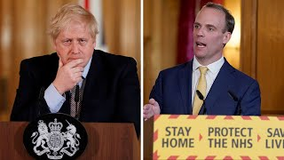 video:   Boris Johnson 'is a fighter' and will be back at the helm to lead us through coronavirus crisis, Dominic Raab says