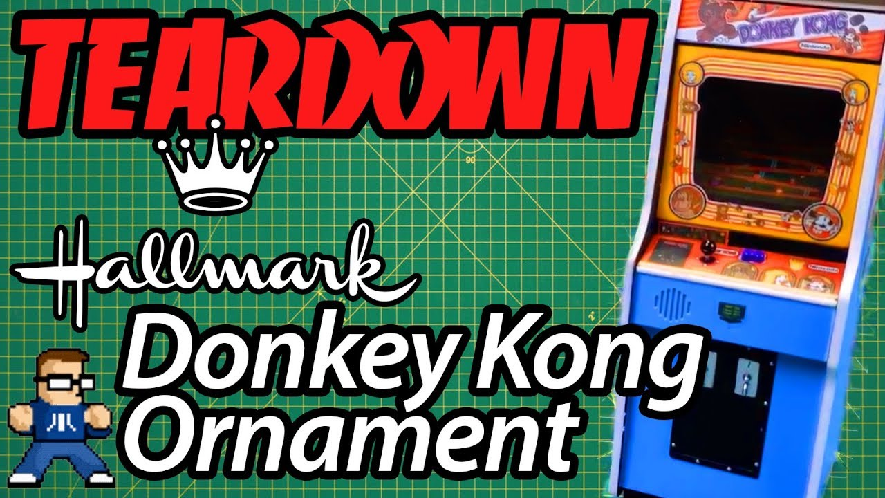 Hallmark Donkey Kong Ornament Teardown