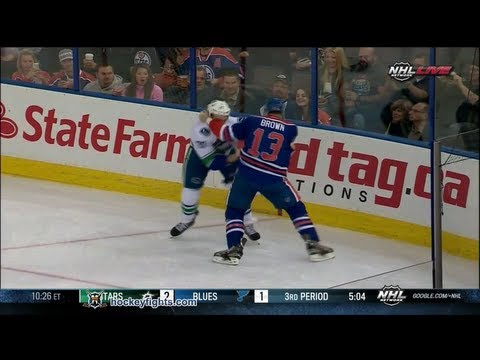 Mike Brown vs. Dale Weise