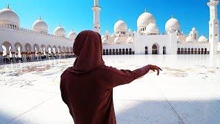 ТОП-1: НЕВЕРОЯТНОЕ МЕСТО! Мечеть Шейха Зайда. Абу-Даби: Феррари парк.