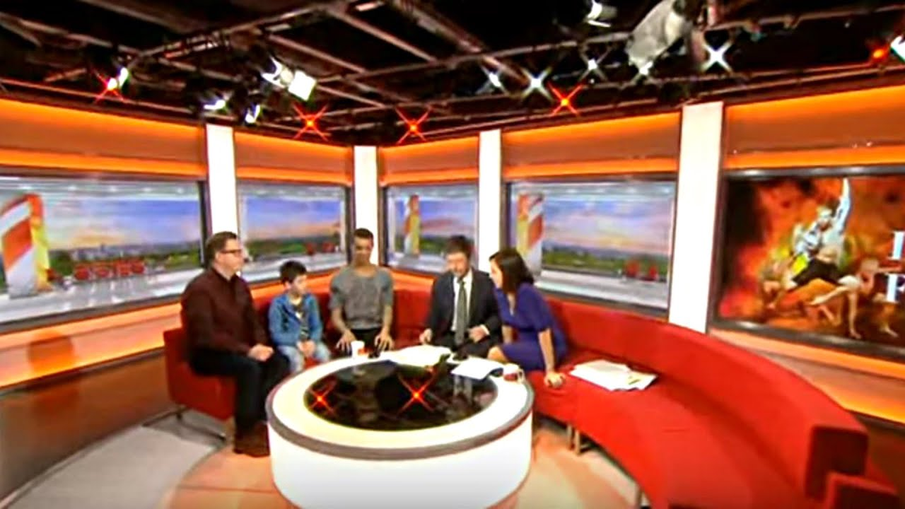 BBC Breakfast interview on Lord of the Flies