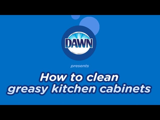 How To Clean Greasy Wood Kitchen Cabinets Dawn Dish Soap - How to clean greasy kitchen cabinets