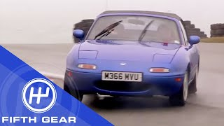 Fifth Gear: Mazda MX5 vs. Mark 1 MX5