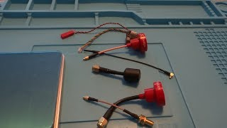 Foxeer Pagoda Pro 5.8GHz 2dBi RHCP FPV Antenna 86mm MMCX Black/Red/Orange