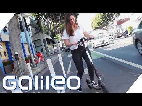 E-Scooter: Wieso sind die neuen Transportmittel so beliebt? | Galileo | ProSieben