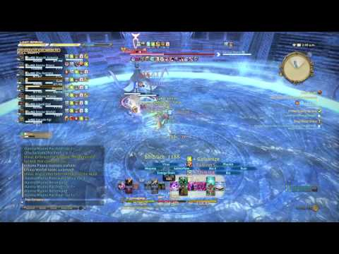 FFXIV - Shiva Extreme Red Mage Solo (Akh Afah Amphitheatre