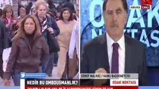 Kamu Başdenetçisi Malkoç, Ülke TV'ye Canlı Yayın Konuğu Oldu