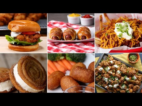 Stadium-Inspired Recipes You Can Make At Home • Tasty Recipes