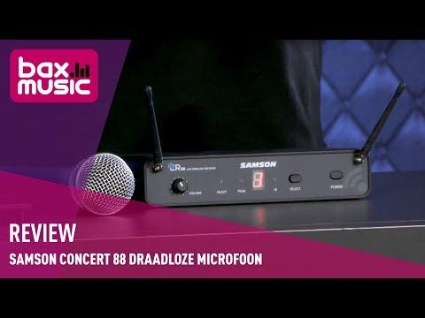 Samson Concert 88 draadloze microfoon - Review