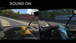 Porsche 911 cup at Nordschleife | iRacing vs rFactor 2