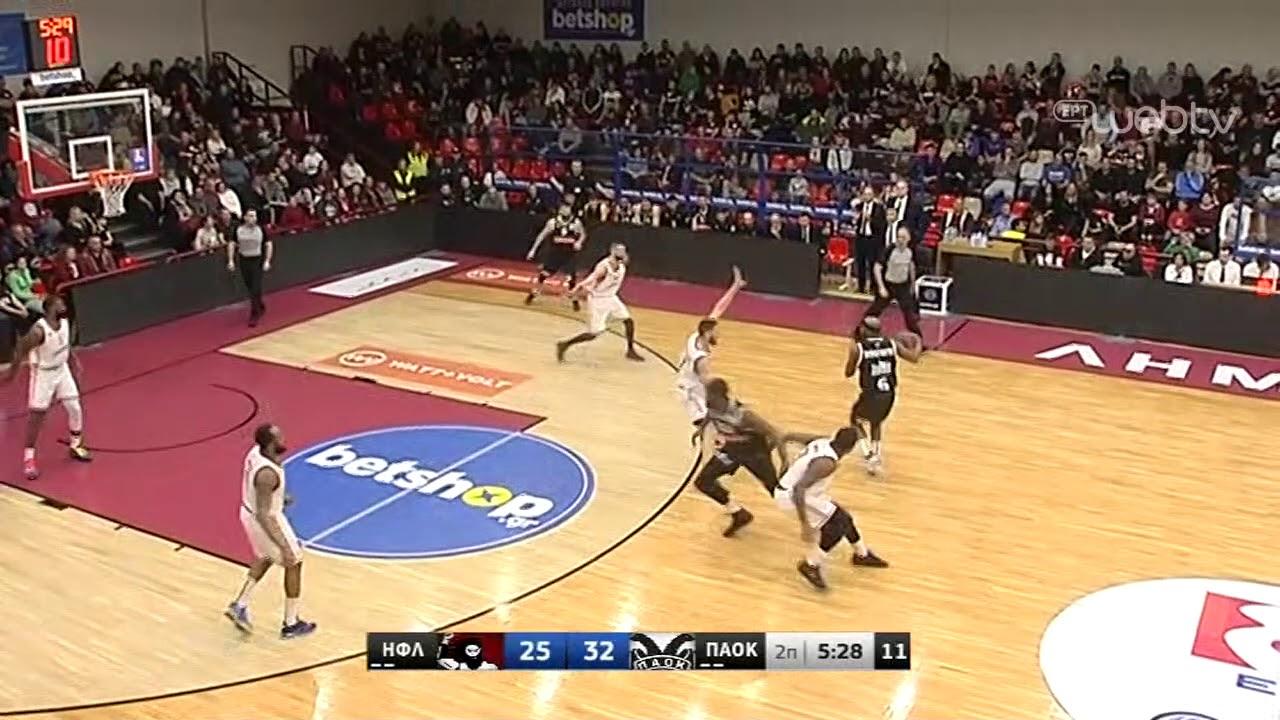 Basket League 2019-2020: ΗΦΑΙΣΤΟΣ ΛΗΜΝΟΥ – ΠΑΟΚ | HIGHLIGHTS | 29/02/2020 | ΕΡΤ