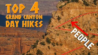 Top 4 Grand Canyon Day Hikes