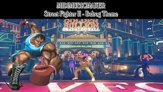 Street Fighter II - Balrog Theme (MidiMusicMaker)