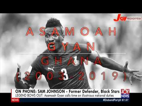 Legend Bows Out - AM Sports on JoyNews (21-5-19)