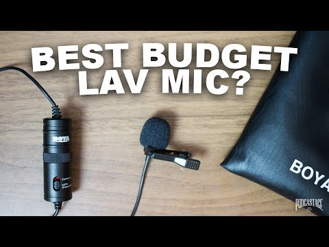Collar Microphone 100 % Original Boya By-m1