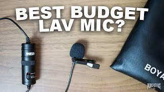 BOYA BY-M1 Lavalier Mic Review / Test