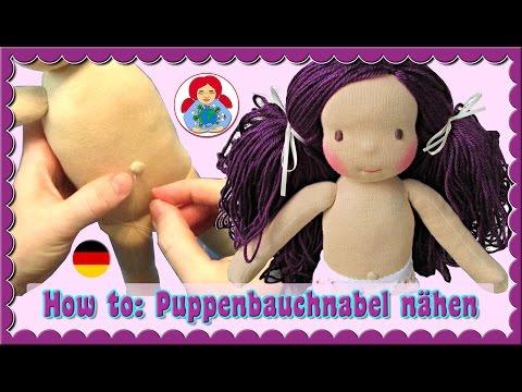 DIY | Nähanleitung: Puppenbauchnabel (Waldorfpuppen, Stoffpuppen) | Sami Doll Tutorials