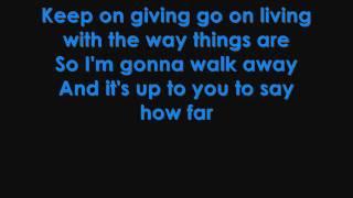 Martina McBride - How Far lyrics