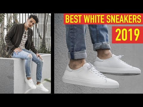 Best White Sneakers for Men 2019 | Must Have White Shoes!