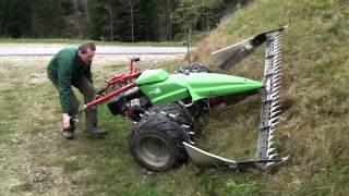Suisse-Tier-Innovationspreis: Versenkbarer Stachelkranz Für Motormäher