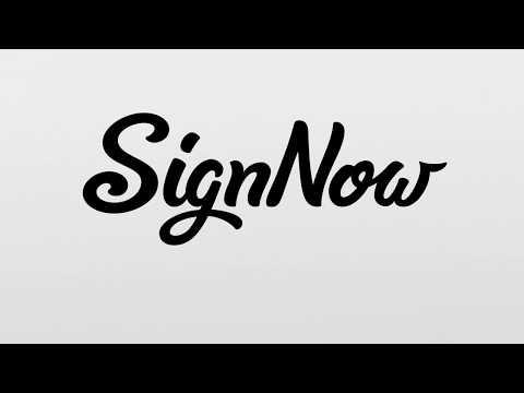 signNow logo.