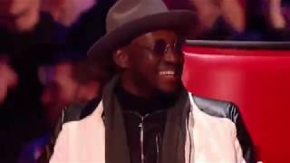 Will.i.am meets his doppelgänger on The Voice UK 2018