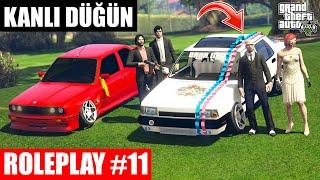 GTA 5 ROLEPLAY #11 HİLMİ VE BURCU EVLENİYOR !!