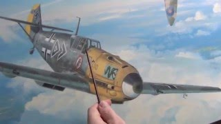 Aviation Art - Messerschmitts Into Battle Part 2