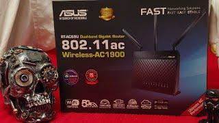 Asus AC1900 RT-AC68U Wifi 5 Benchmark, Analysis, Review, & Setup.  Dual-Band Gigabit Router Wireless