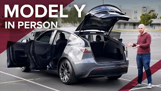 The Tesla Model Y - Full In Person Walkthrough