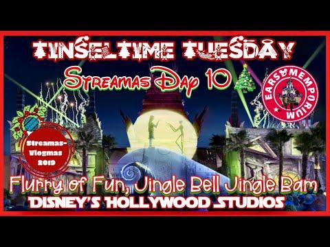 LIVE:Streamas Day 10:TinselTime Tuesday.Wonderdul World of Animation.Jingle Bell Jingle Jam.
