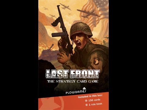 Board Game Brawl Review of Last Front