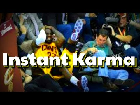 NBA Instant Karma Moments