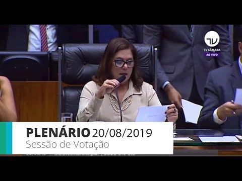 PLENÁRIO - Sessão Deliberativa - 20/08/2019 - 19:51