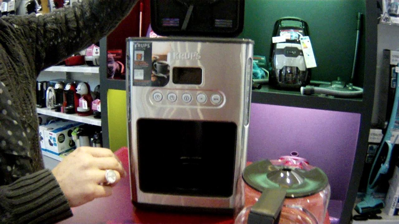 Machine à café percolateur Krups Control Line KM442D Inox - Defitec