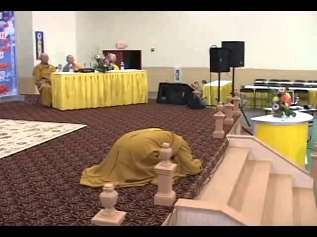 Hướng dẫn cách lạy Phật ĐĐ Thích Giác Nhàn