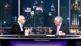 "Saqlain Imam & Tahir Gora debate on ""Pakistan at Crossroad"" in Bilatakalluf @TAG TV"