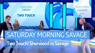 Two Touch! Tim Sherwood battles Robbie Savage and he's still got it! - Video Youtube