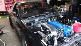 RB25 Swapped R32 Skyline GTS First Start
