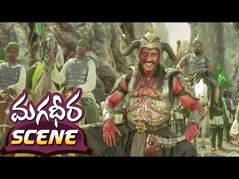 Ram Charan 100 Soldier Fight in Magadheera
