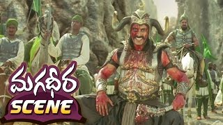 Ram Charan 100 Soldier Fight  Magadheera Telugu Movie  Geetha Arts