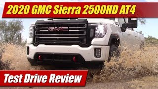 2020 GMC Sierra 2500 HD AT4: Test Drive