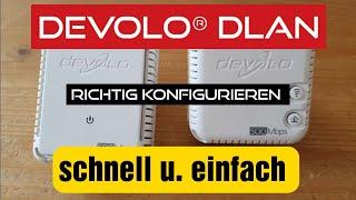 Devolo® Dlan richtig konfigurieren, so geht's