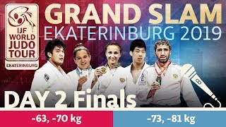 Judo Grand-Slam Ekaterinburg 2019: Day 2 - Final Block